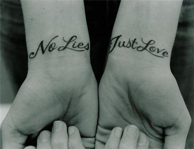 Татуировки на запястьях