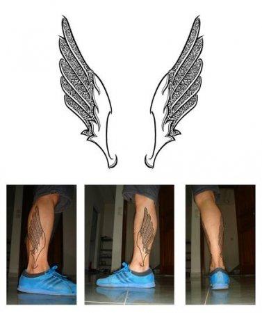 Татуировки на ногах мужские