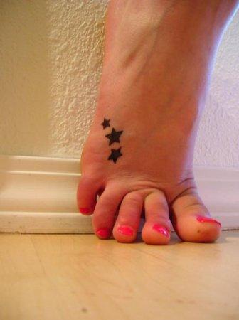 Татуировки узоры на ногу — фотографии