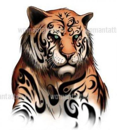 Татуировка тигр означает