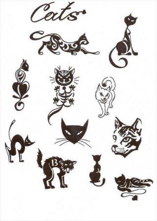 рисунок картинки кота леопольда