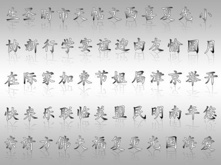 Китайские символы тату