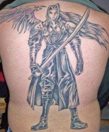 Смотрите также мужское тату на спине