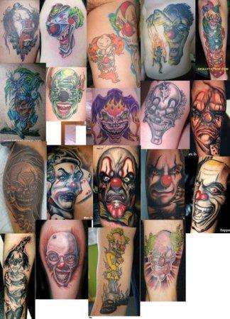 Татуировки джокера