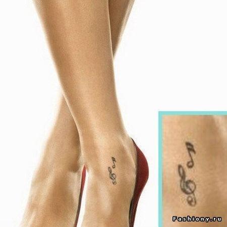 Татуировки женские каталог