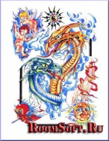 Готические татуировки эскизы и