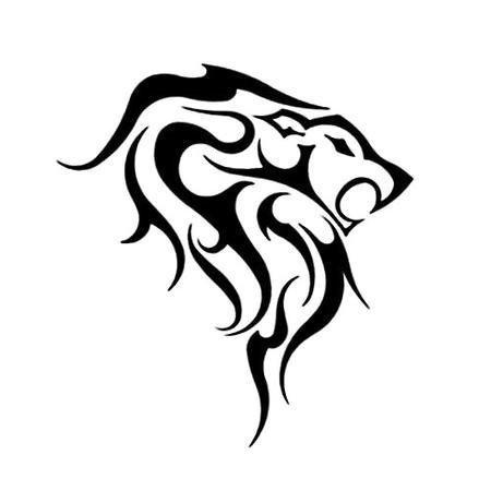 Эскизы татуировок львов
