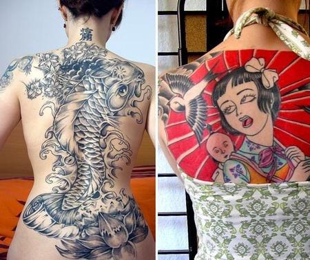 эскизы татуировок япония: