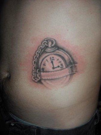 Тату часы