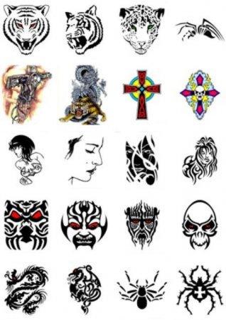 Рисунки на татуировки