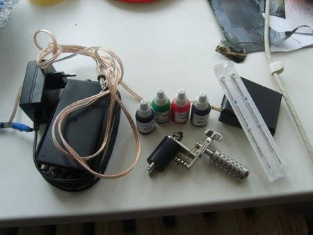 Как сделать машинку для тату из машинки для стрижки волос