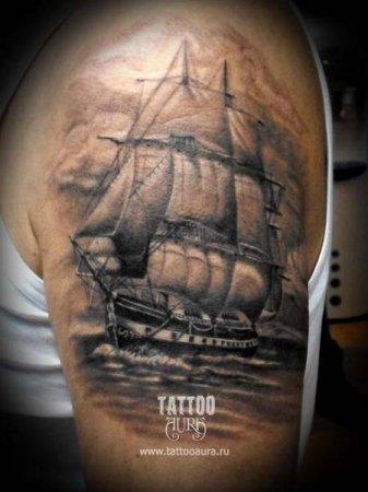 Татуировка на плече работа